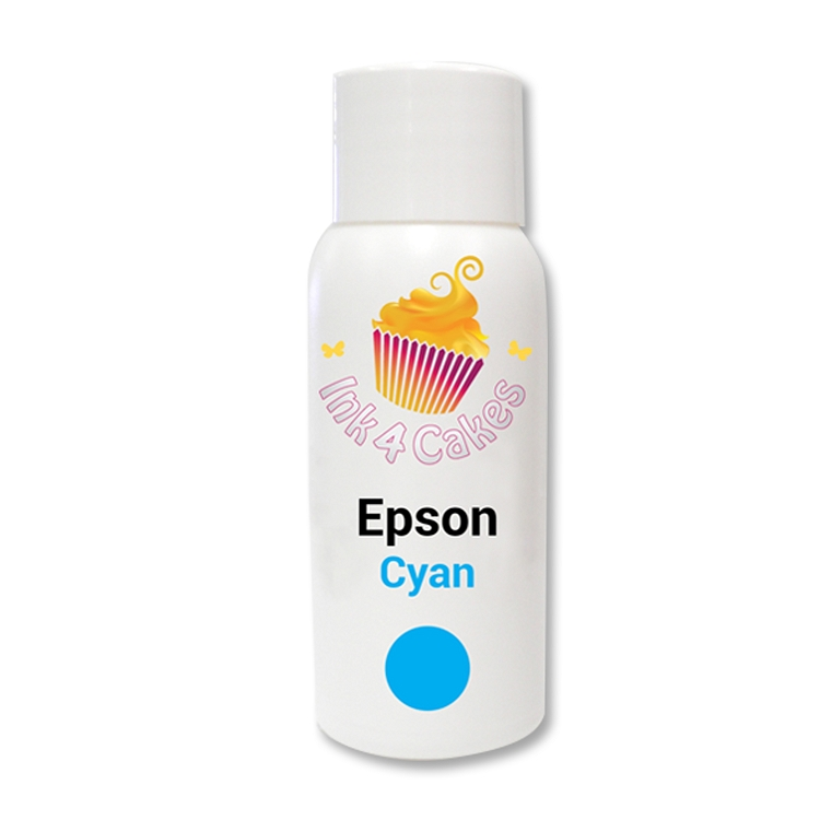 Edible ink refill for Epson -Cyan 120ml