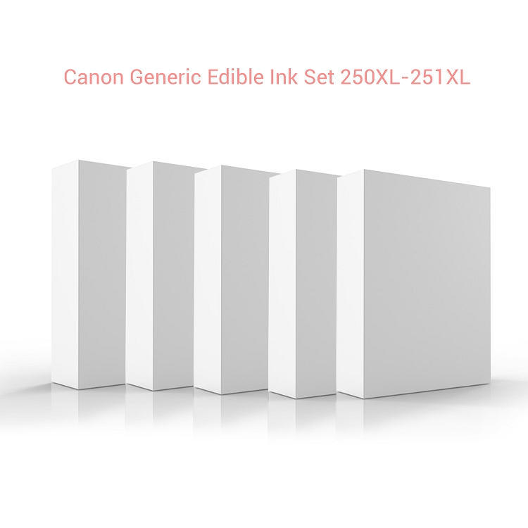 Canon  Edible Ink Set 250XL - 251XL