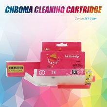 CHROMA 251XL Canon Cyan Cleaning Cartridge