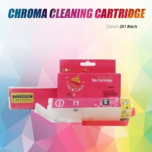 CHROMA 251XL Canon Black Cleaning Cartridge