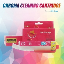 Canon CHROMA cleaning cartridge Cyan 271C