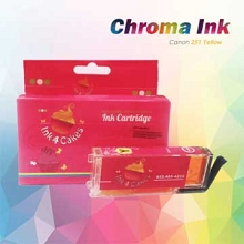 CHROMA 251XL Canon Yellow Edible Ink Cartridge