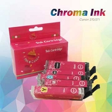 Canon edible ink 270-271 Set CHROMA