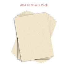 Wafer Paper AD4 10 Sheets Pack