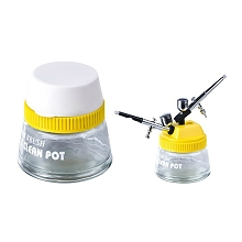 Cleaning Pot Yellow Design