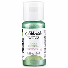 Green Tea Edible Art Paint 15ml Bottle