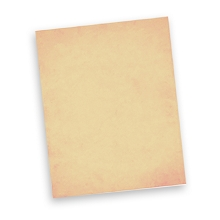 Pale Peach Premium Wafer Paper 10pk