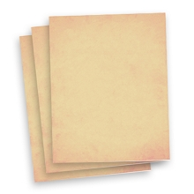Pale Peach Premium Wafer Paper 20pk