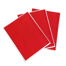 Red Flex Frost - Fabric Icing sheet - 3 pack