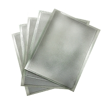 Silver Flex Frost Sparkling Icing Sheets 12 pack