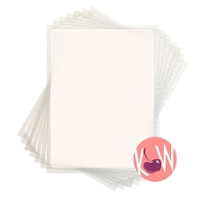 Tiffany FlexFrost Sheets -  Translucent Fabric Icing sheets BULK