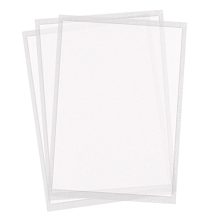 Twiggy Sheets - Thinnest icing sheets letter size - pack of 24 sheets