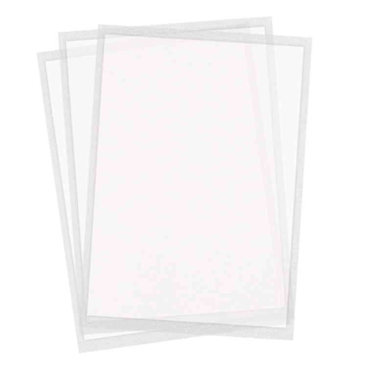 Twiggy Sheets - Thinnest icing sheets Letter size - pack of 4 sheets