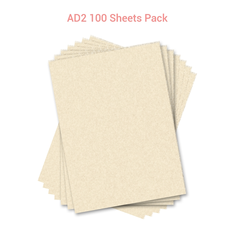 Wafer Paper  AD2 100 Sheets Pack