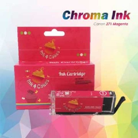 Canon edible ink Magenta 271XL CHROMA