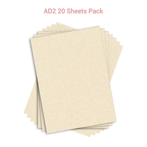 Wafer Paper AD2  20 Sheets Pack