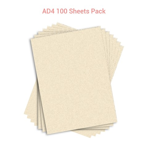 Wafer Paper AD4  100 Sheets Pack