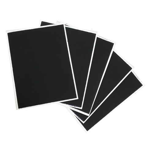 Black Flex Frost - Fabric Icing sheet - 10 pack