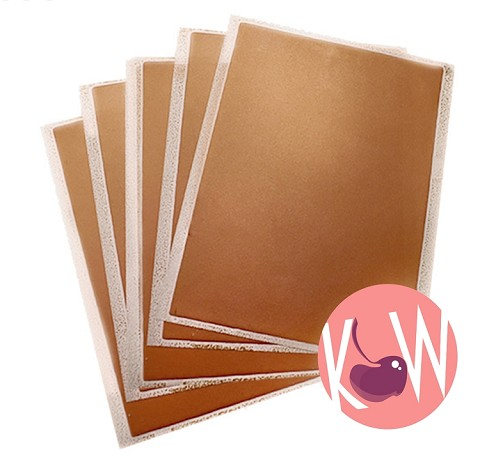 Bronze- Flex Frost Sparkling Icing Sheets 12 pack