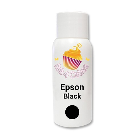 Edible ink refill for Epson - Black 120ml