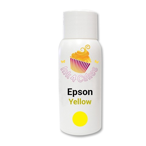 Edible ink refill for Epson - Yellow 120ml