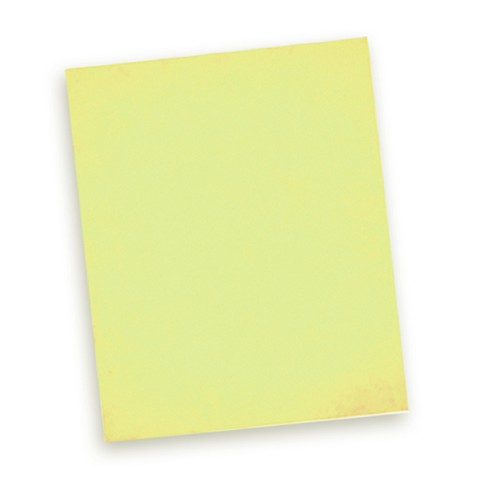 Easter Yellow Premium Wafer Paper 10pk