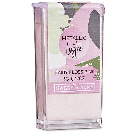 Fairy Floss Pink Edible Art Metallic Lustre