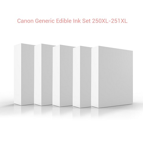 Canon Generic Edible Ink Set 250XL - 251XL