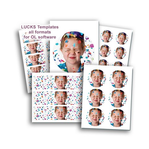 LUCKS Templates for Office Labeler Software - full pack