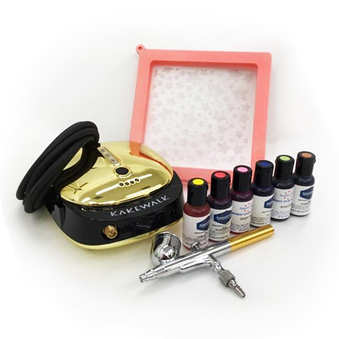 Cake Airbrush Medium Bundle