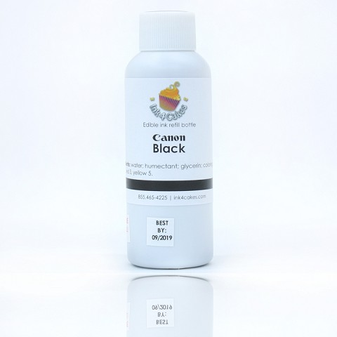 Edible ink refill for Canon- Black 120ml