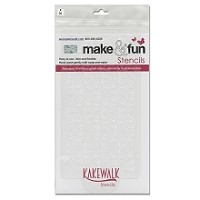 Coach Seamless- Bakery decorating stencil - Rectangle 11