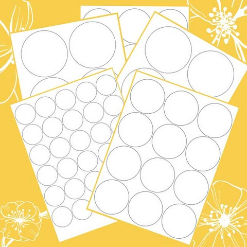 Twiggy Templates for Office Labeler - full pack