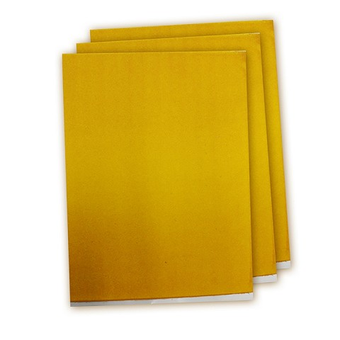 Bright Yellow Gold- Letter Size Supreme Sparkling Icing Sheet -6pk